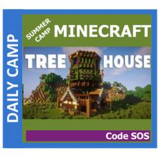 06/29 Minecraft: Tree House Code SOS - Daily GR 1-8