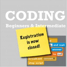 Coding for Beginners /Intermediate GR 1-3 Thursday: 1/30-03/19 Session 1