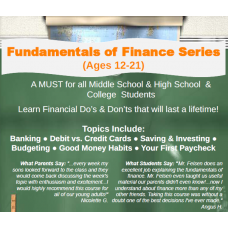 Fundamentals of Finance Series (Ages 12-21)