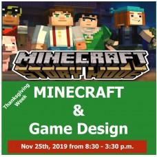 11/25 Minecraft & Game Design