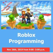 11/27 Roblox Programming