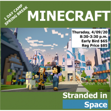 04/09 MINECRAFT Stranded in space GR K-8