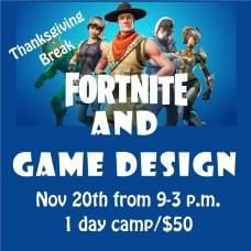 11/20 Fortnite & Game Design