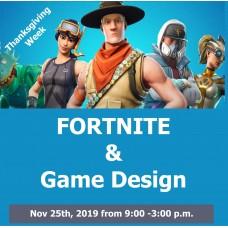11/25 Fortnite & Game Design