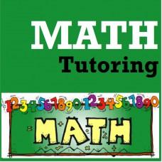 Math Tutoring - Gr K-8