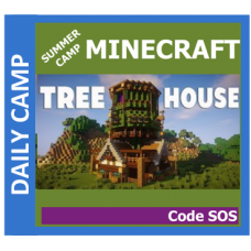 06/29 Minecraft: Tree House Code SOS - Daily GR 1-8