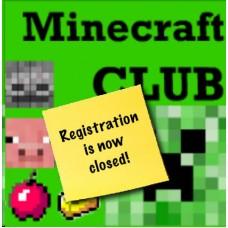 Minecraft CLUB (GR1-5) Friday: 1/24-03/13  Session 1