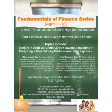 Fundamentals of Finance Series (Ages 11-18)