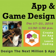 12/17 App & Game Design - Morning Session