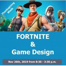 11/26 Fortnite and Game Design