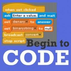 Begin to Code Grades 3-5 FRI - 2:40