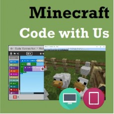 [JAN-MAY] Minecraft Code with Us - Thu 5:00-6:00 pm