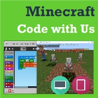 [FALL] Minecraft Code with Us - Thu 5:00-6:00 pm