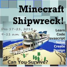 12/17 Minecraft - Shipwrecked - Morning Session
